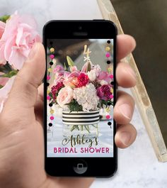 Kate Spade Inspired Snapchat Filter for Birthday Party Bridal