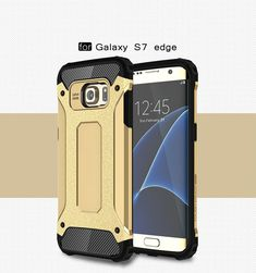 Design Cell Mobile Phone Case with Free Waterproof Case Flip Case for Samsung Galaxy S7 Edge Shockproof Ultra Thin Protective Cover