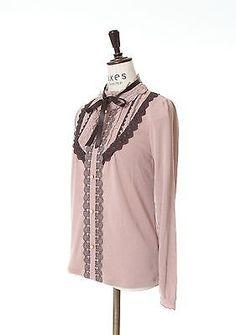 axes femme Dress Tops Light pink /kawaii lolita /MORI GIRL Japanese Brand