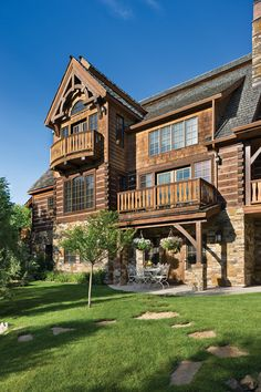 Log Cabin Homes, Cabins, Mountain Living, Timber House, Melting Pot, Cattle, Curb Appeal, Exterior, Rustic