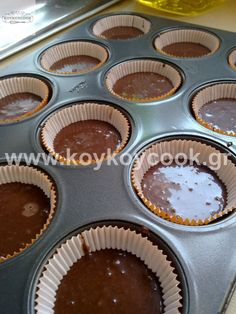 Chocolate Cupcakes, Muffin, Food And Drink, Sweets, Breakfast, Decor, Morning Coffee, Decoration, Gummi Candy