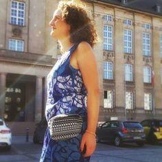 Kleid Cleo und Bauchtasche zum Nähen - Beides Freebooks von Funkelfaden Fanny Pack, Sewing Patterns, Tutorials, Kleding