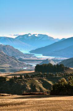 Queenstown New Zealand landscape