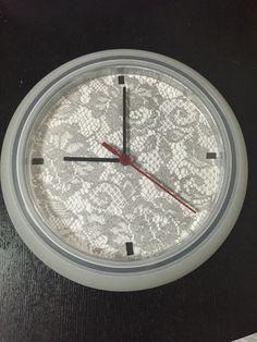 Ikea hack: rusch clock