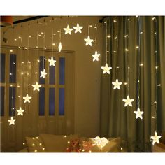 Click the pict for detail , Moon Star Lamp LED Lamp String Ins Christmas Lights Decoration Holiday Lights Curtain Lamp Wedding Nentern fairy light Diwali Decorations At Home, Outdoor Christmas Decorations, Light Decorations, Garland Decoration, Christmas Fairy Lights, Holiday Lights, Cute Teen Rooms, Baby Christmas Photos, Birthday Garland