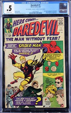 Stan Lee Authentic Signed Marvel Comics Daredevil #1 CGC Graded PSA/DNA #Z04195 @ niftywarehouse.com #NiftyWarehouse #Nerd #Geek #Entertainment #TV #Products