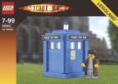Doctor Who 2 - INSTRUCTIONS: TARDIS: A LEGO® creation by Mr. Xenomurphy : MOCpages.com