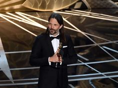 "Winner: Cinematography  -    Linus Sandgren for ""La La Land"""