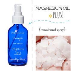 Make Your Own Magnesium Oil Plus