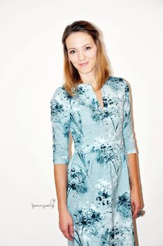 a004af56cbd ein winterliches Kleid nach dem Schnittmuster