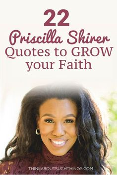 Enjoy this power-packed life inspiring quotes from Priscilla Shirer. Use them in your journaling, art, planners, or just to encourage yourself and oth Christian Women, Christian Living, Christian Quotes, Christian Warrior, Faith Quotes, Bible Quotes, Bible Verses, Prayer Quotes, Prayer Scriptures