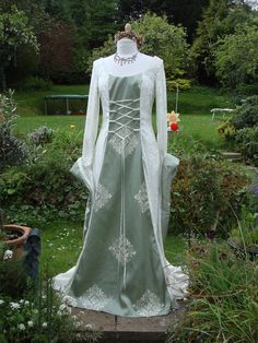 Ivory fairy Galadriel lady of the greenwood  medieval by WYTCHHAZE