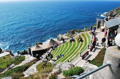 Minac Theatre, Cornwall, England Cornwall England, Theatre, Dolores Park, Journey, Places, Travel, Viajes, Theatres, The Journey