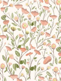 Spring Floral Pattern by chotnelle