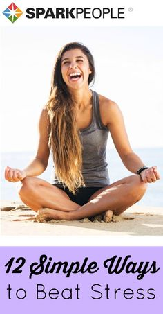 Kick chronic #stress to the curb with these easy techniques you can do anywhere. | via @SparkPeople #health #wellness