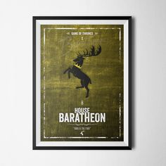 House Baratheon - Ours Is The Fury - Game Of Thrones