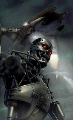 Hunter-killer terminator by vakulya on deviantART