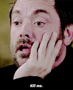 Crowley (I laughed so hard at this...Crolwey was sooo bored XD)
