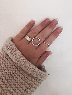 Styling by josephinehlindhard showing Ribbon Ring Extra Wide Silver, Ribbon Ring Wide Silver and Wave Ring Silver #jewellery #Jewelry #bangles #amulet #dogtag #medallion #choker #charms #Pendant #Earring #EarringBackPeace #EarJacket #EarSticks #Necklace #Earcuff #Bracelet #Minimal #minimalistic #ContemporaryJewellery #zirkonia #Gemstone #JewelleryStone #JewelleryDesign #CreativeJewellery #OxidizedJewellery #gold #silver #rosegold #hoops #armcuff #jewls #jewelleryInspiration #JewelleryInspo…