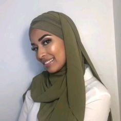 Turban Hijab, Hijab A Enfiler, Turban Mode, Hijab Stile, Mode Hijab, Hijab Outfit, Hijab Style Tutorial, Muslim Women, Muslim Brides