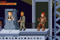 'Iron Man 3′ Imagined As A 16-Bit Video Game Speed Run