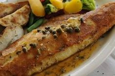 The Potato Encrusted Walleye drenched in lemon caper butter is one of several fish entrees offered at Encore Food and Spirits, 2222 Riverside Drive, in Allouez. Fish fries are also offered on Wednesday and Friday nights. / Evan Siegle/Press-Gazette photo