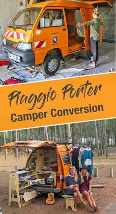 PIAGGIO PORTER - The smallest camper expansion as a mobile PIAGGIO PORTER – Der kleinste Camper Ausbau als Wohnmobil The Piaggio Porter as a mobile home extension. In a small space comfortably build a camper yourself, that& how it works! Bus Camper, Build A Camper, Mini Camper, Camper Life, Trailers Camping, Auto Camping, Camping Diy, Camper Trailers, Minivan Camping