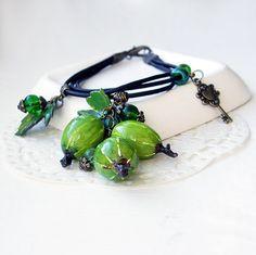 Fruits boho bracelet  Boho bracelet with gooseberry  by OPStyle