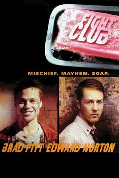 'Fight Club' remains one of the most impactful movies I've watched, mostly because of the raw truthfulness of it as well as me reading the book prior to watching it.