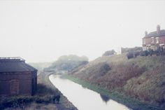 the Old Main Line of canal running past the disused pumping house Date November 1969 Birmingham Canal, Canal Boat, Pumping, Past, Maine, Old Things, Country, Rivers, City
