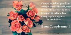 Congratulazioni per il tuo compleanno! Ricorda, oggi niente sforzi! Perché avrai bisogno di tutta la tua energia per spegnere le candeline! Buon Compleanno