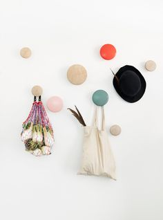 Buy The Dots Coat Hook from Muuto. The Muuto Dots Coat Hooks are produced from high quality wood. The Muuto Dot Coat hooks' sculptured design can be arr.