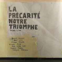 """""""La Précarité, Notre Triomphe"""" es una exposición colectiva que reune a 7 artistas de nacionalidad francesa afincados en nuestro país en el Centro de Historias de Zaragoza del 20 de Abril al 7 de Junio.  La muestra está dedicada a la precariedad en la que viven la mayoría de los artistas, sobre todo los emergentes.  #zaragoza #zaragozaguia #zgzguia #regalazaragoza #zaragozapaseando #zaragozaturismo #zaragozadestino #miziudad #zaragozeando #mantisgram #magicaragon #loves_zaragoza #loves_aragon…"""
