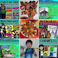 Let's celebrate Māori language week! Kiwiana, Teacher Blogs, My Emotions, Hands On Activities, Lets Celebrate, Free Printables, Language, Let It Be, Celebrities