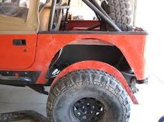 jeep yj rear fender trimming - Google Search