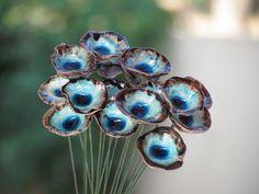 פרחי קרמיקה לעיצוב הבית, עיצוב אירועים | אורלי פיטל מתנות קרמיקה אישיות | מרמלדה מרקט