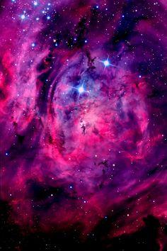 ˚Lagoon Nebula in the constellation Sagittarius
