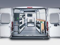 Peugeot Boxer bedrijfswageninrichting Vehicle Storage, Van Racking, Van Storage, Fiat Ducato, Transporter, Car Detailing, Pune, Peugeot, Shelving