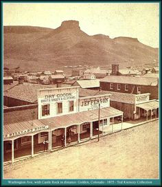 Golden Colorado ~ 1880