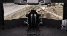 360 screen flight simulator
