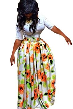 If you love African prints or Ankara, you will lust over African prints  maxi skirts a1f58eb18ce