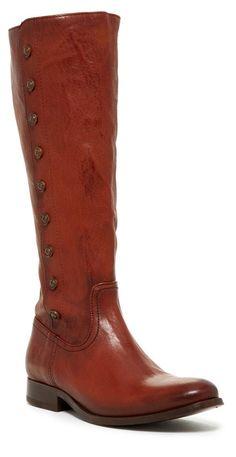FRYE Tall Cognac Boots