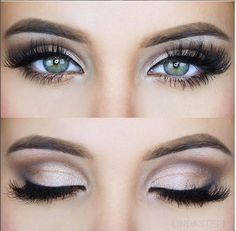 Elegant eyes finished off with our lush lashes in style #CAMI by @LindaSteph