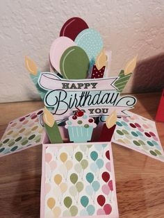Another Great Year Birthday   box card