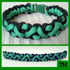 St. Patrick's Day Paracord Bracelet. $7.00, via Etsy.