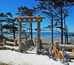 North West. Seabrook, Washington: http://beachblissliving.com/beach-cottage-rentals-seabrook-wa/