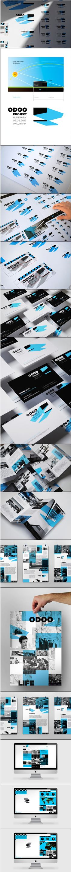 Odooproject Identity -  love the lines and dimension.