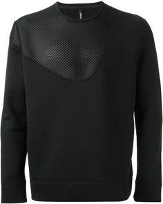 ♂Stuff And Toys For BIG Boys♂NEIL BARRETT Mesh Panel Sweatshirt