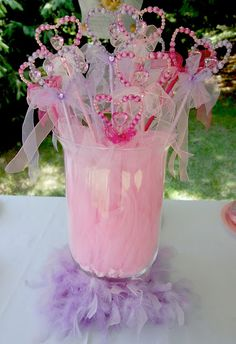 fairy wands for Princess party!