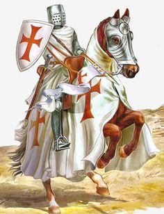 Knight Templar. Unknown artist.